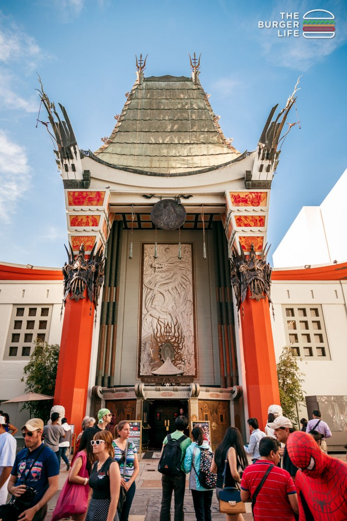 Chinese Theater, Hollywood, California, 2014.