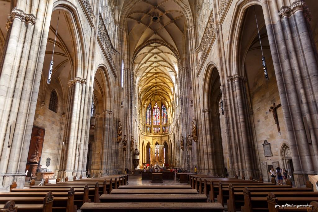 La Catedral de Praga por dentro.